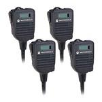 Motorola HMN4103B (4 Pack) Speaker/Mic