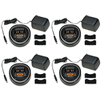 Motorola AAHTN3000D (4 Pack) Charger