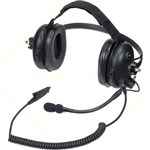"""Motorola PMLN5276B Brand New Includes One Year Warranty Special Order: 7-10 days to ship, The Motorola PMLN5276B is a heavy duty headset with noise cancelling boom microphone that protects from harmful, high-decibel noise while hearing sounds and more"