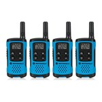 Motorola T100 (4-Pack) Walkie Talkies