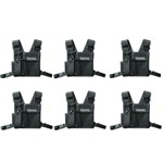 Motorola HLN6602 (6-Pack) Universal Chest Pack