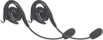 Motorola 56320 - 2 PK Over-The-Ear Headset w/Boom Microphone