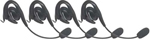 Motorola 56320 - 4 PK Over-The-Ear Headset w/Boom Microphone