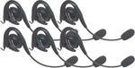 Motorola 56320 - 6 PK Over-The-Ear Headset w/Boom Microphone