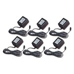 Motorola NNTN4077A - 6 PK Replacement 10-Hr Plug-in Wall Charger