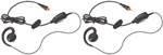 Motorola HKLN4455A - 2 PK 2 Way Headset