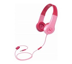 Wired / Wireless Headsets motorola squads 200 kids wired headphones pink