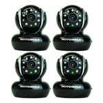 Motorola BLINK1-B (4 Pack) iPhone-Android Baby Monitor